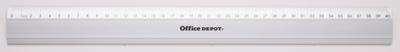 Pravítko Office Depot - hliníkové, 40 cm
