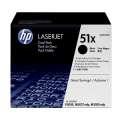 Toner HP Q7551XD - černá