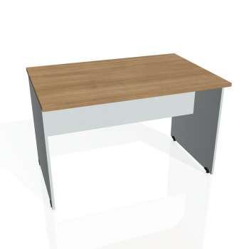 Jednací stůl Hobis GATE GJ 1200, višeň/šedá