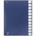 Třídicí kniha Donau - A4, A-Z, modrá navy
