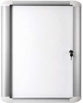 Exteriérová vitrína Office Depot - 9 x A4, s magnetickou tabulí