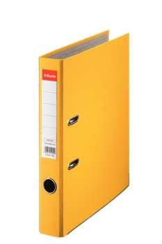 Pořadač pákový Esselte Economy 5,0 cm, žlutý