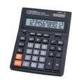 Velká stolní kalkulačka Citizen SDC-444S - 12-míst displej, černá