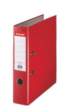 Pákový  pořadač  Esselte Economy 7,5 cm, červená
