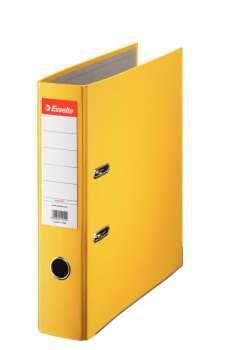 Pořadač pákový Esselte Economy 7,5 cm, žlutý