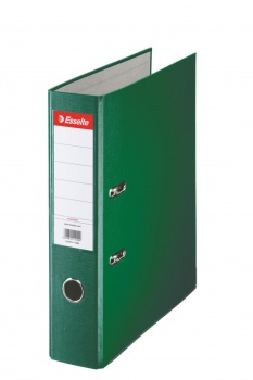 Pákový  pořadač  Esselte Economy 7,5 cm, zelená