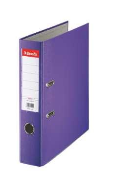 Pořadač pákový Esselte Economy 7,5 cm, fialový