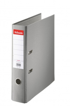 Pákový  pořadač  Esselte Economy 7,5 cm, šedý