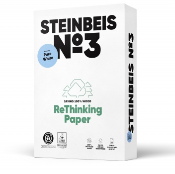 Recyklovaný papír Steinbeis Pure White A3 - 80 g/m2, 500 listů