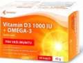 Vitamin D3 forte + omega-3 - 60 tablet