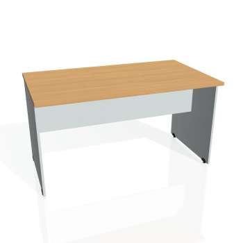 Jednací stůl Hobis GATE GJ 1400, buk/šedá