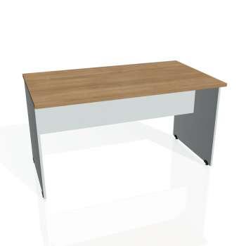 Jednací stůl Hobis GATE GJ 1400, višeň/šedá