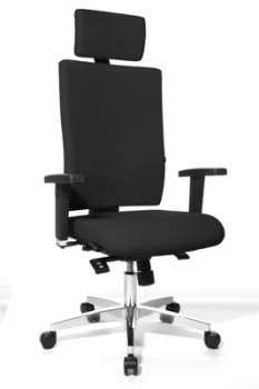 Židle kancelářská Lightstar, černá