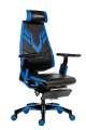 Herní židle Genidia Gaming - synchro, černá/modrá