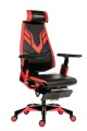 Herní židle Genidia Gaming - synchro, černá/červená