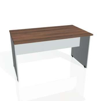 Jednací stůl Hobis GATE GJ 1400, ořech/šedá