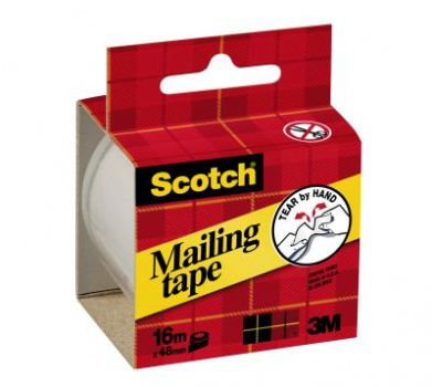 Balicí páska odtržitelná SCOTCH, 50 mm x 16 m