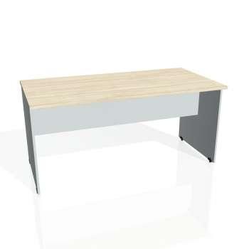 Jednací stůl Hobis GATE GJ 1600, akát/šedá