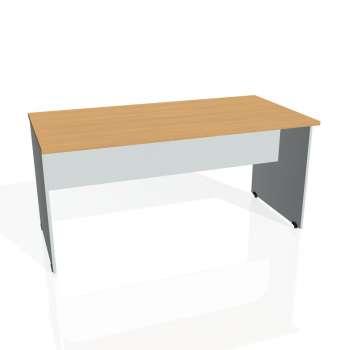 Jednací stůl Hobis GATE GJ 1600, buk/šedá
