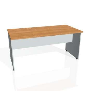 Jednací stůl Hobis GATE GJ 1600, olše/šedá