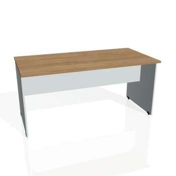 Jednací stůl Hobis GATE GJ 1600, višeň/šedá
