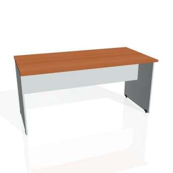 Jednací stůl Hobis GATE GJ 1600, třešeň/šedá
