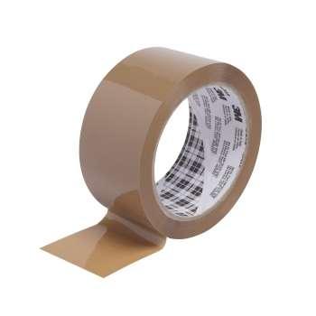 Balicí páska Tartan - 50 mm x 66 m, hnědá