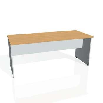 Jednací stůl Hobis GATE GJ 1800, buk/šedá