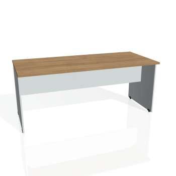 Jednací stůl Hobis GATE GJ 1800, višeň/šedá