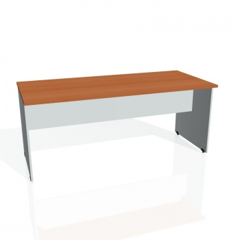 Jednací stůl Hobis GATE GJ 1800, třešeň/šedá