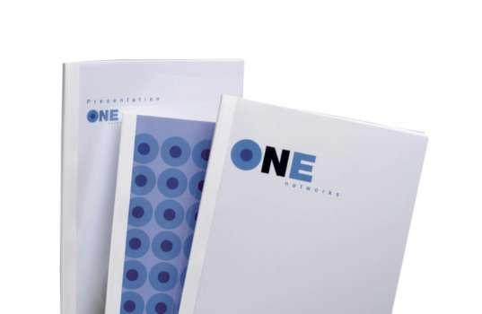 Desky pro termovazbu GBC - 3 mm, imitace plátno, bílé, 100 ks