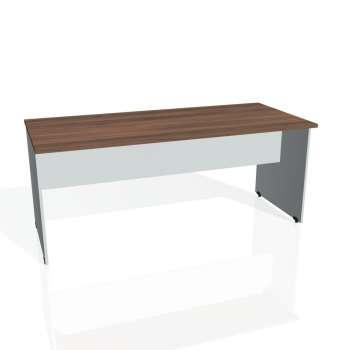 Jednací stůl Hobis GATE GJ 1800, ořech/šedá