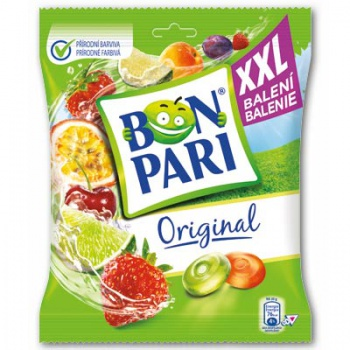 Ovocné bonbony - Bon Pari Original XXL balení, 180 g
