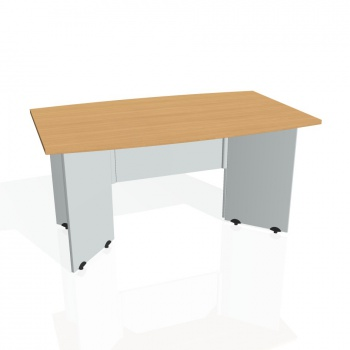 Jednací stůl Hobis GATE GJ 150, buk/šedá