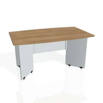 Jednací stůl Hobis GATE GJ 150, višeň/šedá