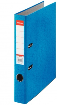 Pákový pořadač Esselte - A4, kartonový, hřbet 5 cm, modrá