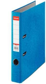 Pákový pořadač Esselte - A4, kartonový, hřbet 5 cm, modrý