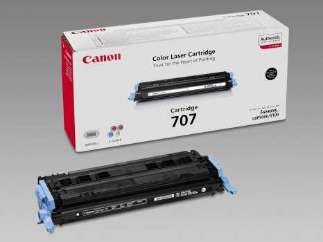 Toner Canon CRG707BK - černý