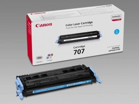 Toner Canon CRG707C - azurová