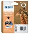 Cartridge Epson T0711H - černá , dvojbalení