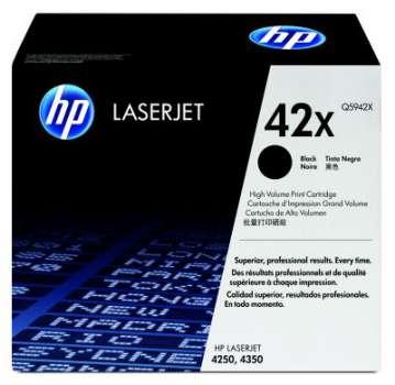 Toner HP Q5942X/42X - černý