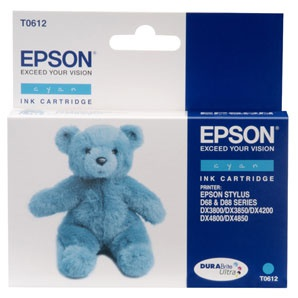 Cartridge Epson T061240 - azurová