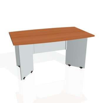 Jednací stůl Hobis GATE GJ 150, třešeň/šedá