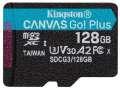 Kingston Micro SDXC Canvas Go! Plus 128GB 170MB/s