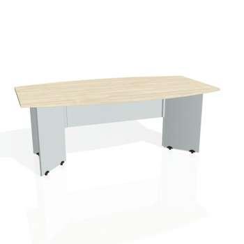 Jednací stůl Hobis GATE GJ 200, akát/šedá