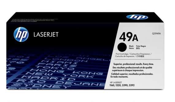 Toner HP Q5949A/49A - černá