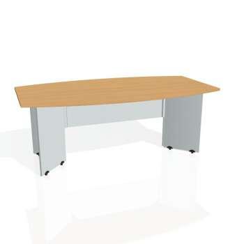 Jednací stůl Hobis GATE GJ 200, buk/šedá