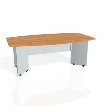 Jednací stůl Hobis GATE GJ 200, olše/šedá