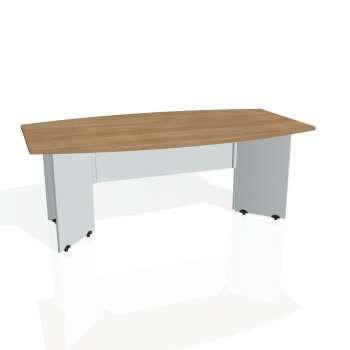 Jednací stůl Hobis GATE GJ 200, višeň/šedá