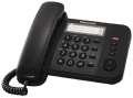 Stolní telefon Panasonic KX-TS520FXB jednolinkový